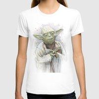 yoda T-shirts featuring Yoda  by Olechka