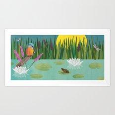 Peace & Quiet Art Print