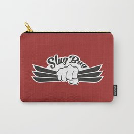 Slug Bug Fist With Dark Red Background Carry-All Pouch