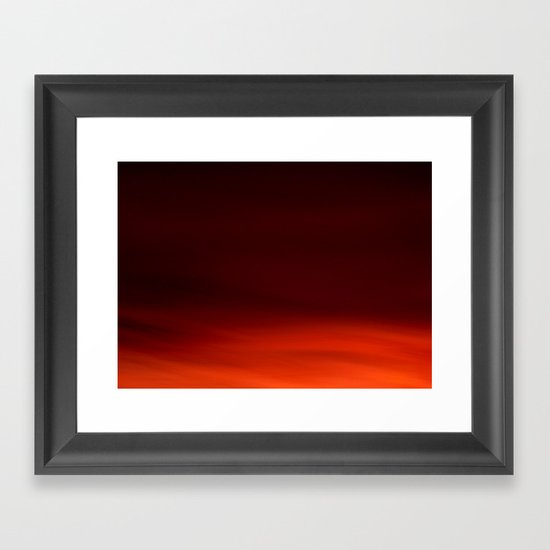 Deeper and Deeper Framed Art Print