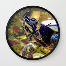 Turtle II Wall Clock
