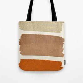 Copper Spots Tote Bag