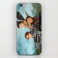 supernatural iPhone & iPod Skins featuring Supernatural by RAVEFIRELL