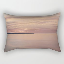 LAKE MICHIGAN PASTELS Rectangular Pillow