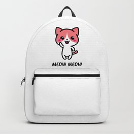 Meow Cat Backpack
