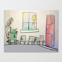 Percy's Dilemma Canvas Print