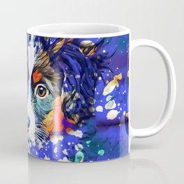 Abstractly Australian Shepherd Coffee Mug
