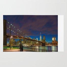Warm Brooklyn Bridge Rug