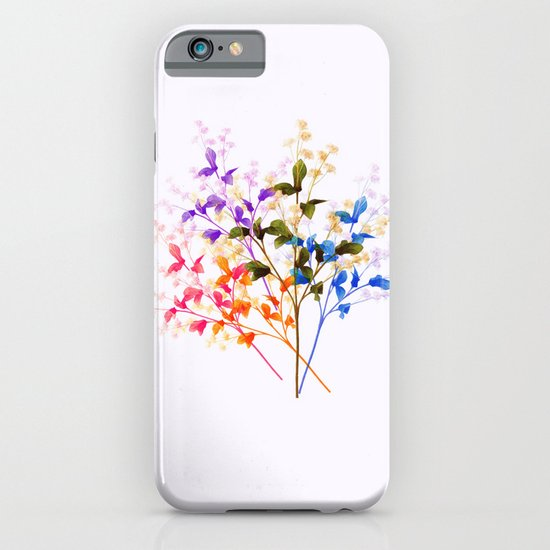 Itty Bitty Flowers iPhone & iPod Case