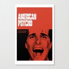 Psycho American Canvas Print