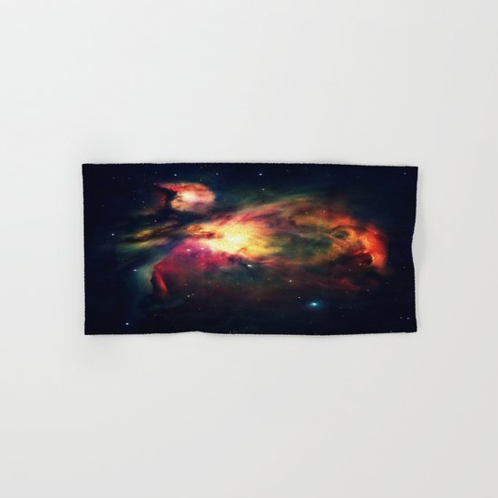 Orion NEbula Dark & Colorful Hand & Bath Towel