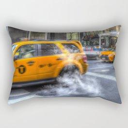 New York Taxis Rectangular Pillow
