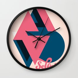 Self pity Wall Clock