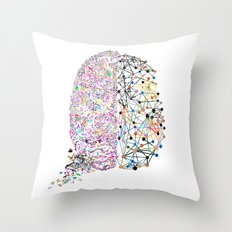 the Brain Throw Pillow