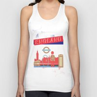 london Tank Tops featuring LONDON by famenxt