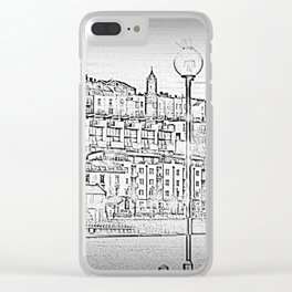 Bristol Harbourside Clear iPhone Case