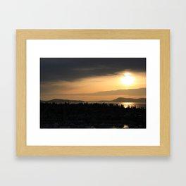Shades of Dusk Framed Art Print