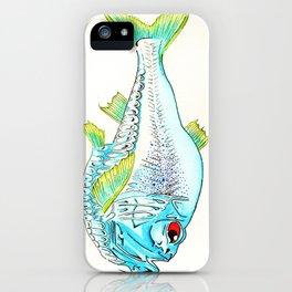 Hatchet Fish iPhone Case