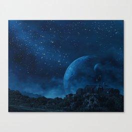 moon base Canvas Print