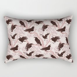Crows pattern Rectangular Pillow