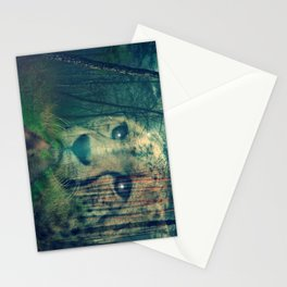 Cheetah in the Woods Stationery Cards