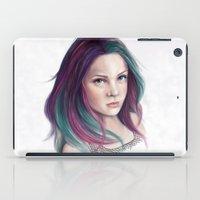 sandman iPad Cases featuring Delirium by Laura MSS
