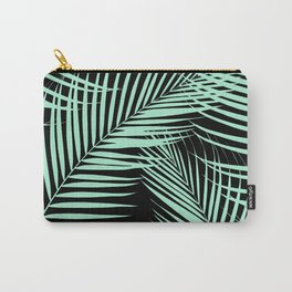 Palm Leaves - Mint Cali Vibes #1 #tropical #decor #art #society6 Carry-All Pouch