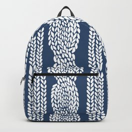 Cable Navy Backpack