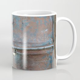 Rusty metal gate Coffee Mug