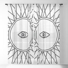 Third Eye - Seeing Eye Sheer Curtain