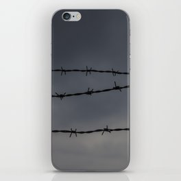 Barb Wire II iPhone Skin