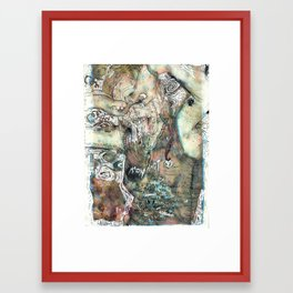 Beer Goggles Framed Art Print