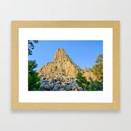 Devils Tower 2 Framed Art Print