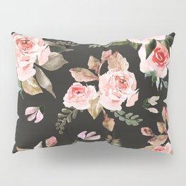 Pink flowering in the dark I Pillow Sham