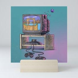 Childhood's dream Mini Art Print