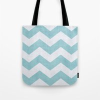 salt water Tote Bags featuring Salt + Water by The Dreamery