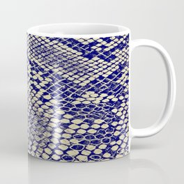 blue snake Coffee Mug