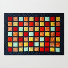 patchwork 001 Canvas Print