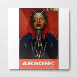 ARSON xgt2 Metal Print