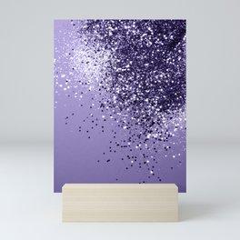 ULTRA VIOLET Glitter Dream #1 #shiny #decor #art #society6 Mini Art Print