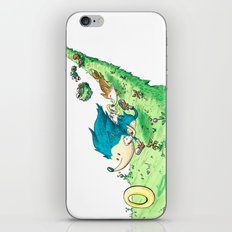 Starring Sonic and Miles 'Tails' Prower (Alt.) iPhone & iPod Skin