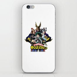 Boku no My hero academia iPhone Skin