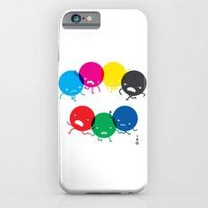 CMYK fights RGB iPhone 6s Slim Case