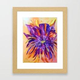 Abstract ochird Framed Art Print