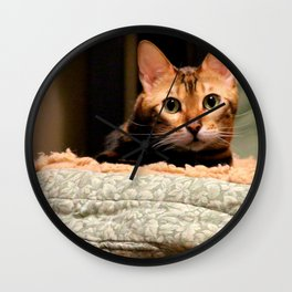Did You Knock? Wall Clock