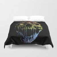 soul eater Duvet Covers featuring Soul Eater by Doyle See