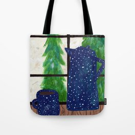Coffee at Home Tote Bag