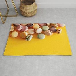 Colorful macarons Rug