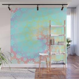 Spiral floral fantasy Wall Mural