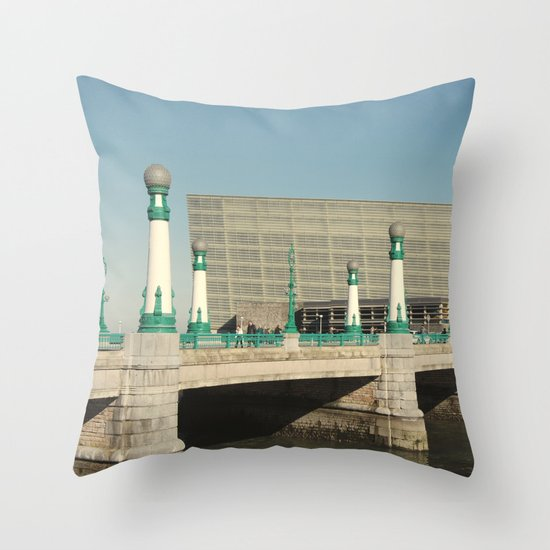 Kursaal Bridge Throw Pillow